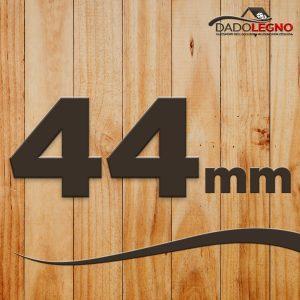 Spessore 44mm